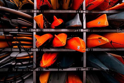 Emballage de kayak