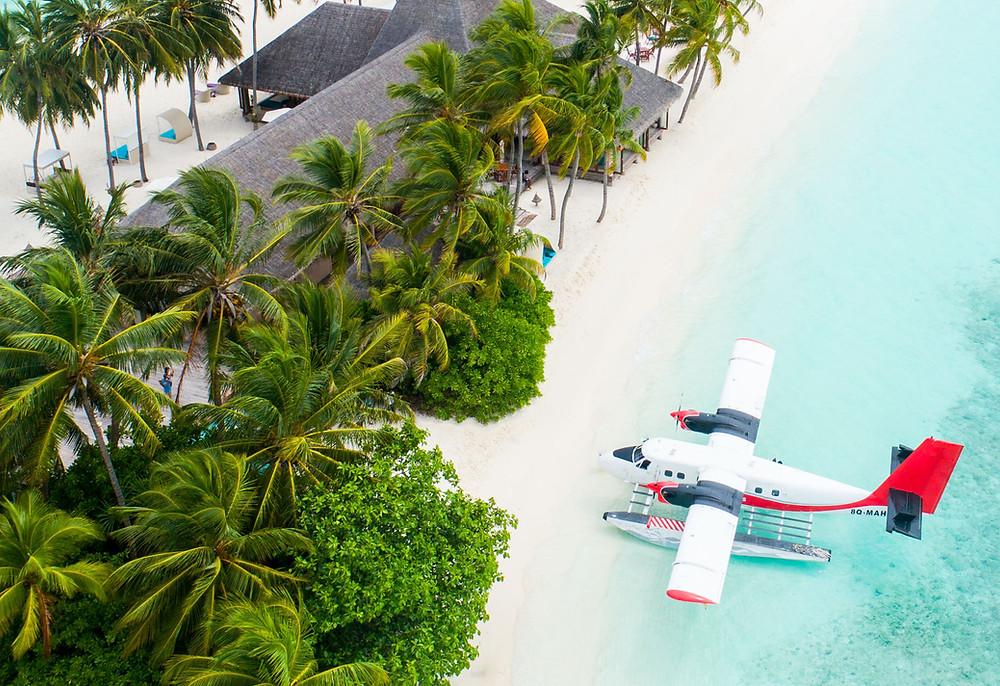 Water Airplane Maldives