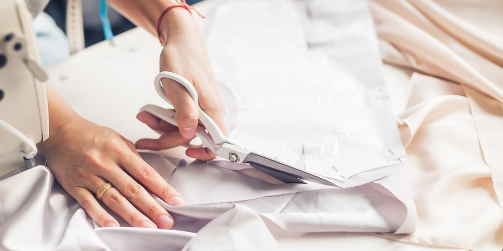 Revalorisation textile • Fabrication d'un accessoire et réparation/customisation d'un vêtement