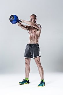 Man with Kettlebell