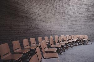 tomt klasseværelse