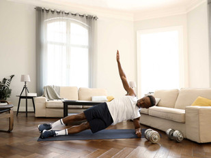 Fuel your fitness at home:  5 tips and tricks