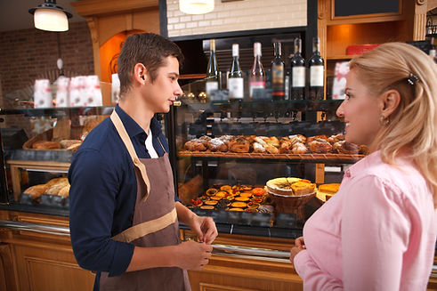 Baker and Customer