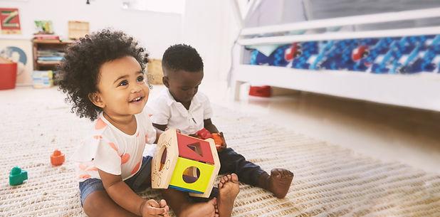 Babies in Playroom