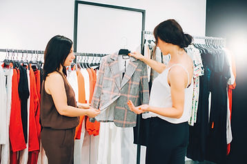 Employées de boutique