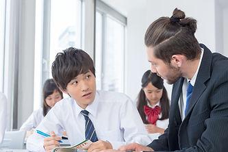 外国人講師の授業