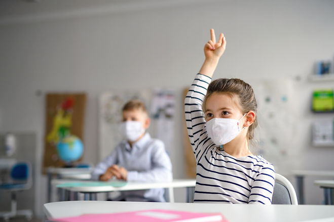 Back to School with Mask