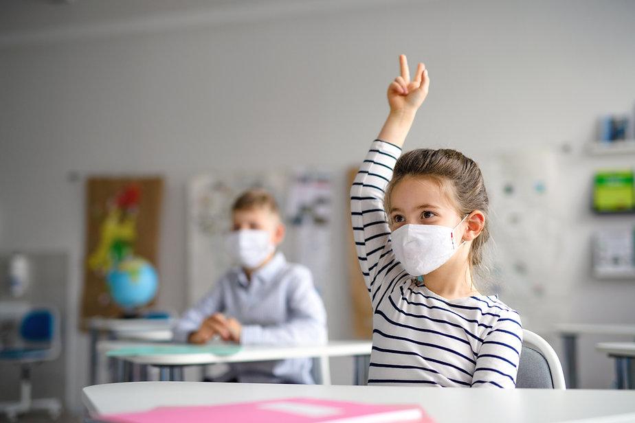 Tilbage til skolen med maske