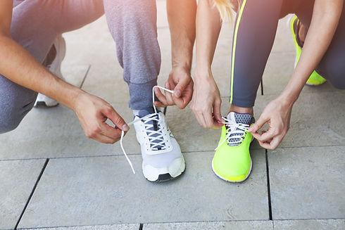 Preparándose para correr