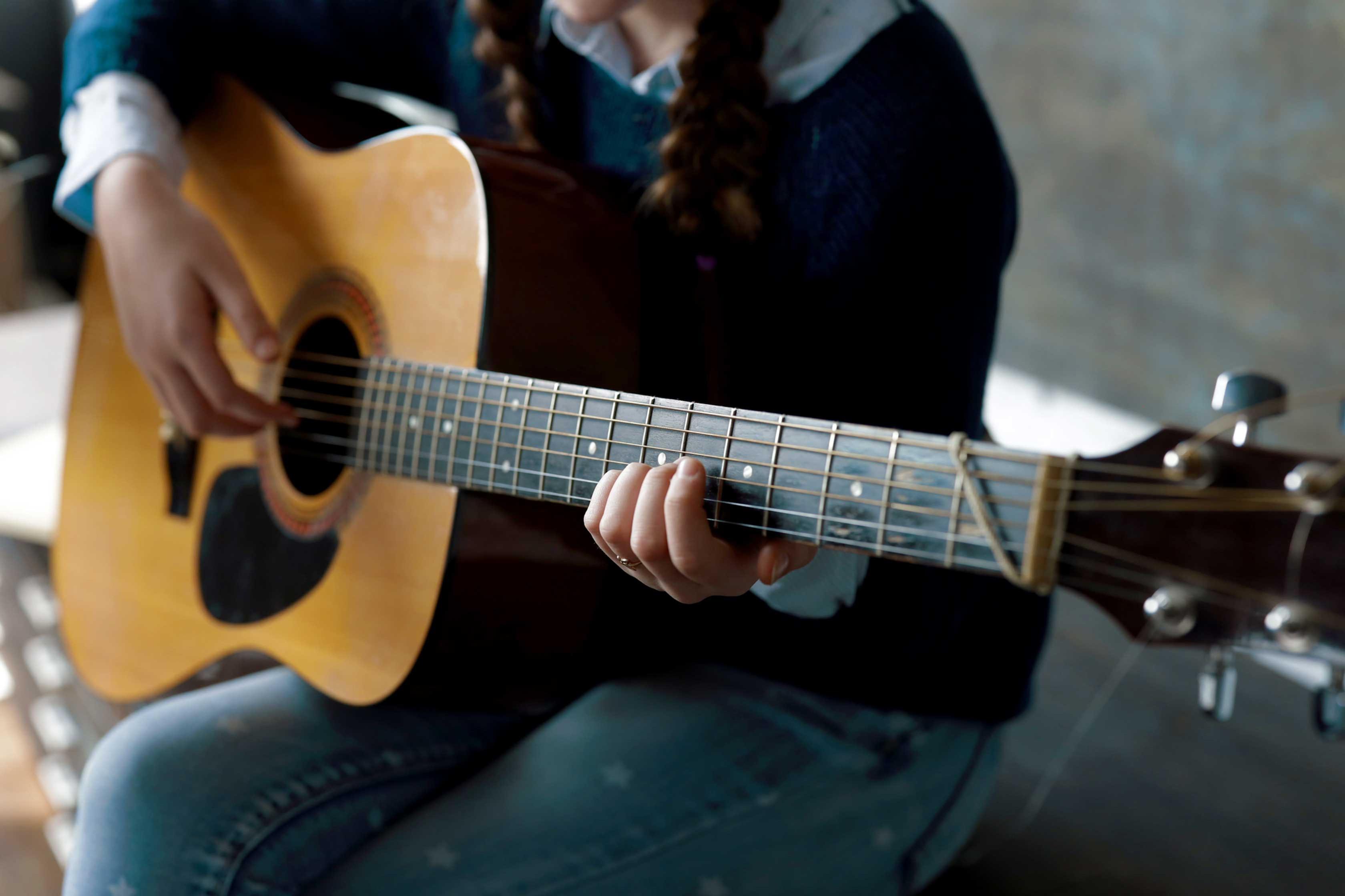 Beginner's Guitar Lesson (1to1)