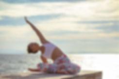 Ananda Yoga Retreats Ibiza - Beach yoga at Benirras