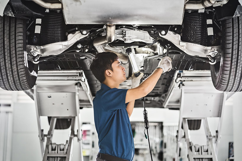 Carro de conserto de mecânico automático
