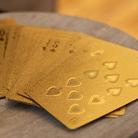 Gold Cardistry Deck