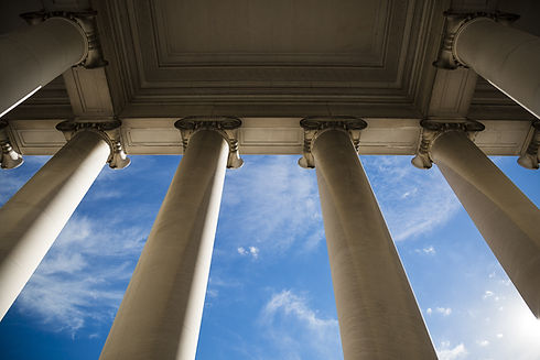 Columnas de edificios gubernamentales