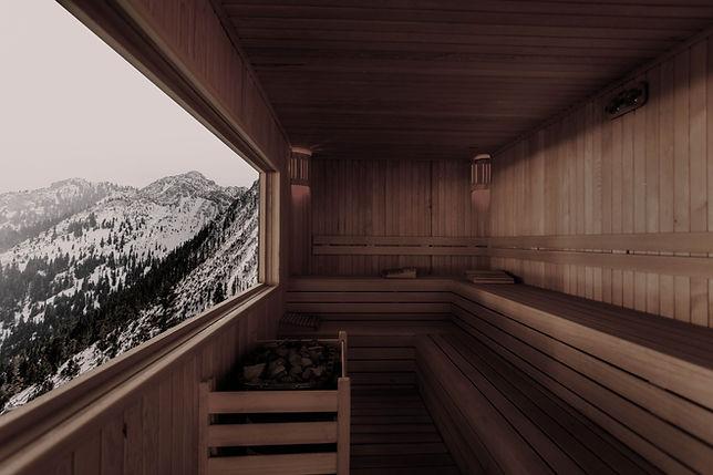 Sauna mit Aussicht