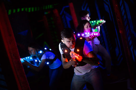 Laser Tag Players