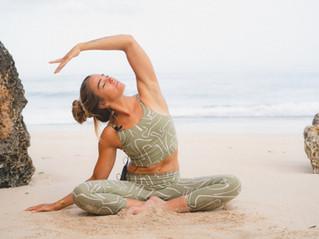 Summer yoga vibes