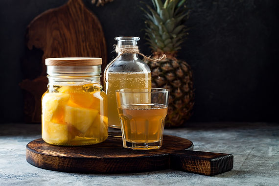 Boozy Pineapple Whip