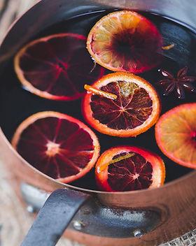 Vin chaud aux fruits