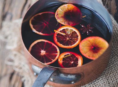 Glögg med frukt