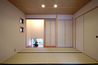 日本間 畳 家 生け花 床の間 花