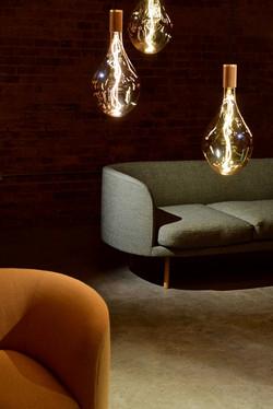 Ampoules modernes