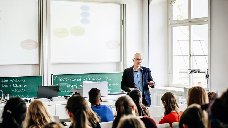 Probelehrveranstaltungen Berufungsverfahren für eine neue Professur des International Management Schwerpunkts