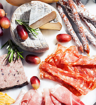Kød- og ostebræt
