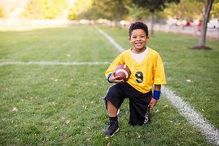 Kid Football Player