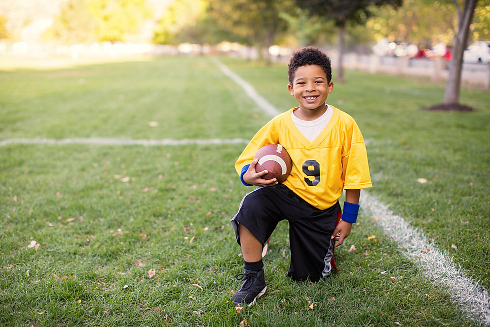 Kid Football Player