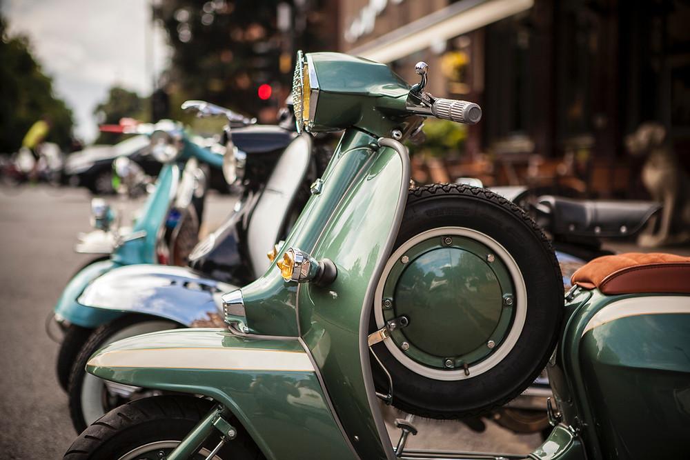 原付バイクであれば賃貸駐輪場を使用することができます