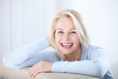 Lächelnde Frau