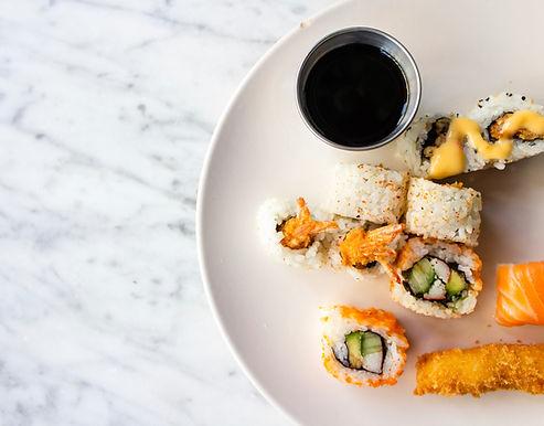 Combinación de sushi