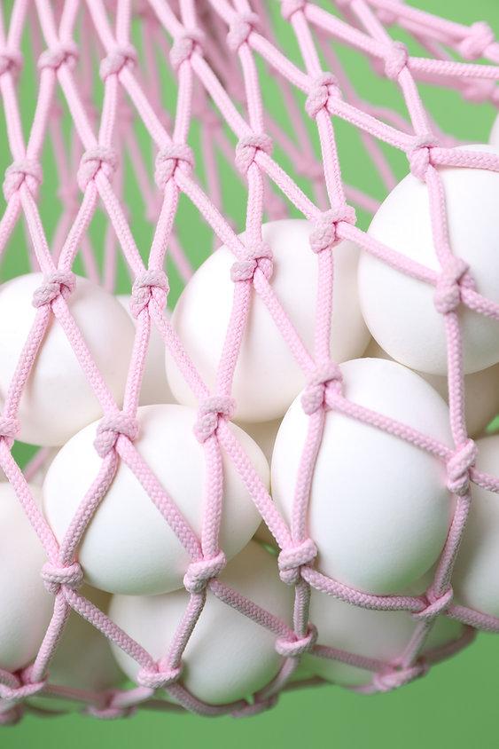 Zak met eieren