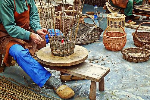 The Sidekick Harvest Basket