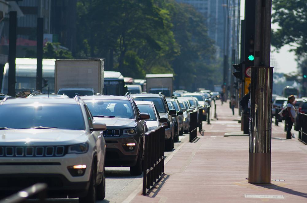 traffic jam in Singaporean roads
