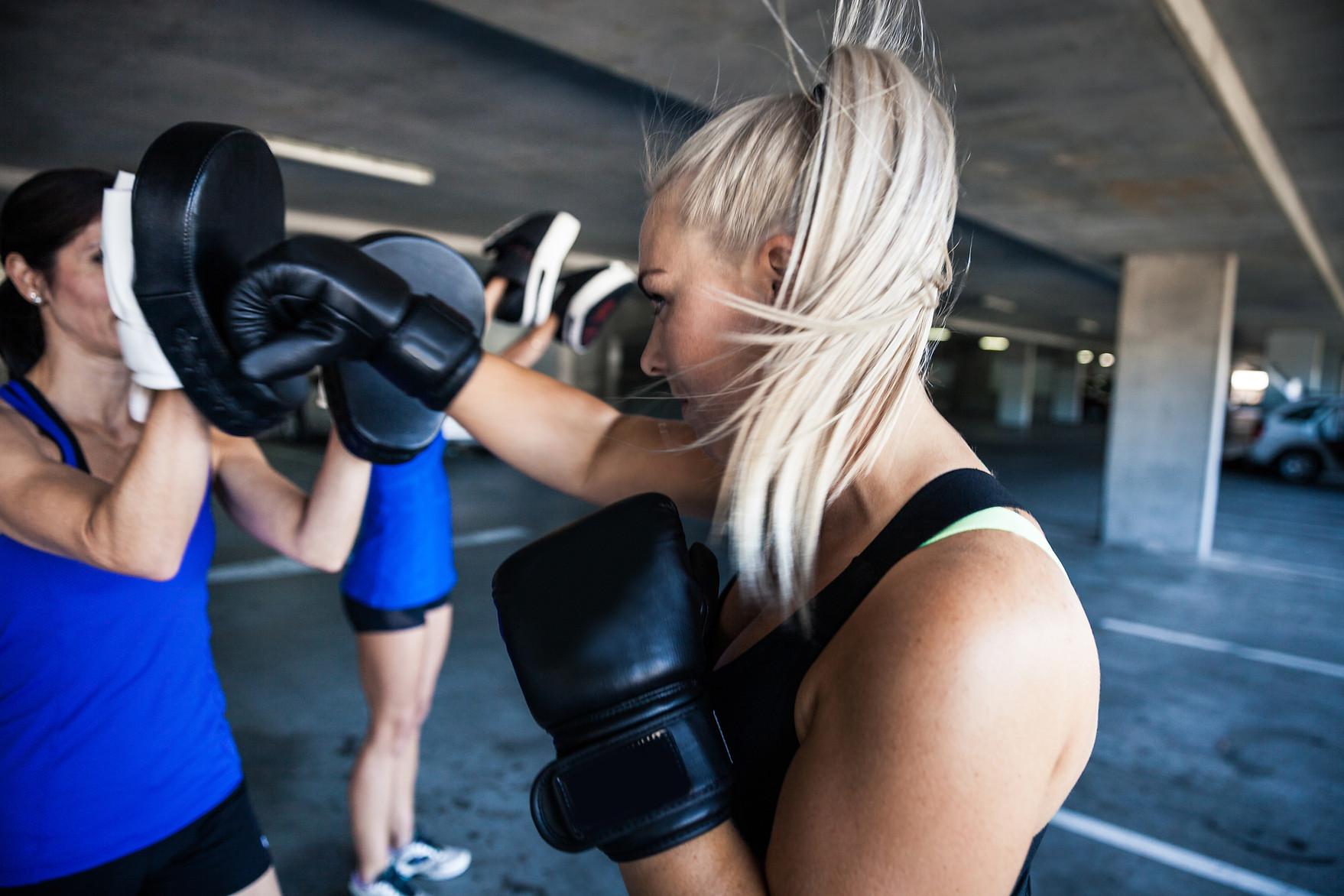 Kickboxing Practice