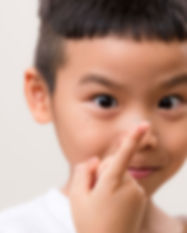 Child with Contact Lens