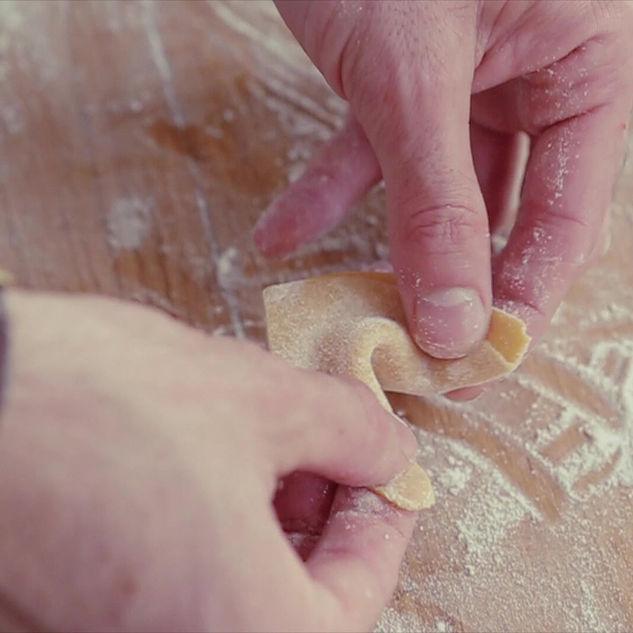 Herstellung von frischen Teigwaren