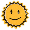 Smiling Sun Patch