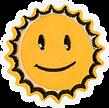 Lachende Sun Patch