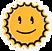 Lächelnder Sonnenfleck