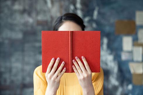 Rood boek lezen
