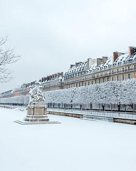 Jardin des Tuileries en hiver