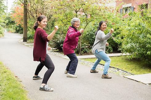Self Defense Training Outdoors