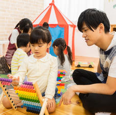 Teacher and Student Playing