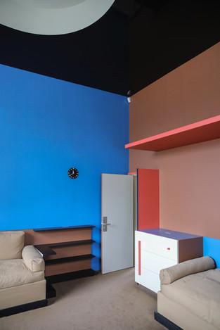 Chambre colorée
