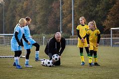 Junior Soccer Match