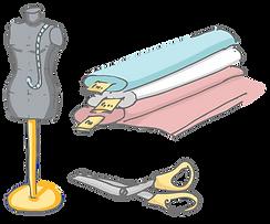 Schneidereiausrüstungen