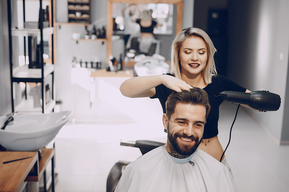 Hairdresser SMB small business midsize CrushContracts